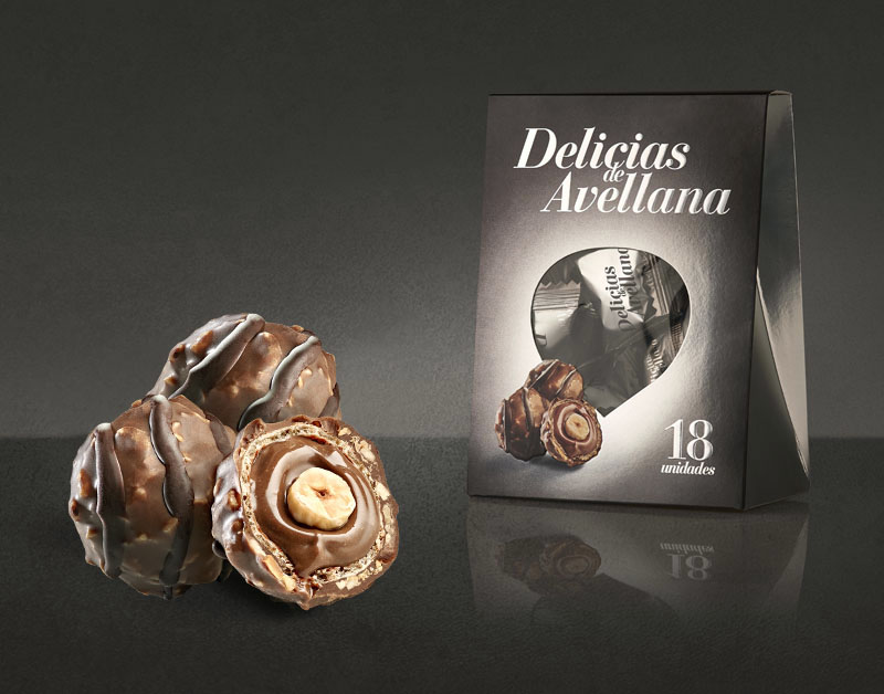 Delicias Avellana Trio Packaging Low
